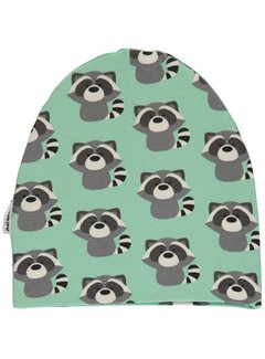 Maxomorra Maxomorra Hat Velour RACCOON
