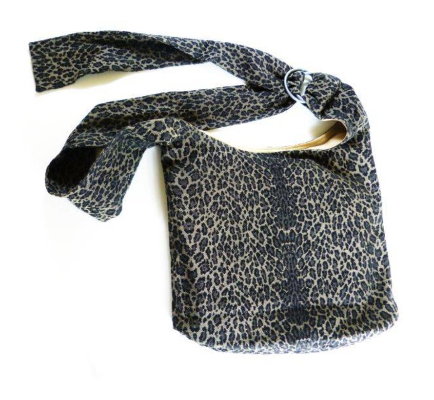 Didymos schoudertas draagtas leopard
