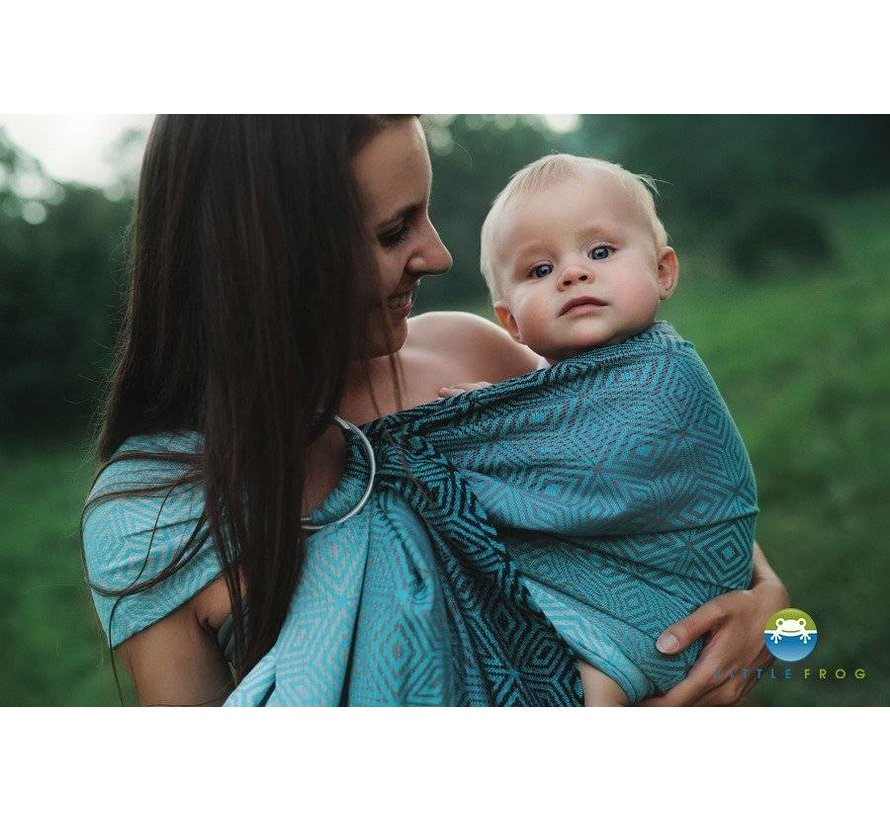 Little frog Stormy Cube ringsling