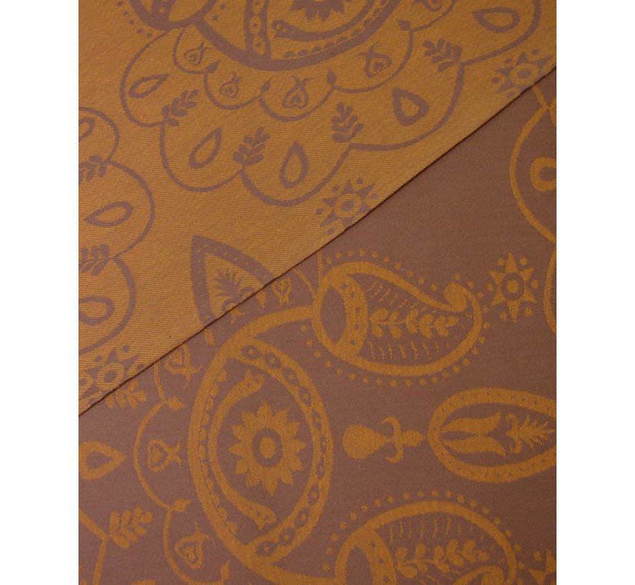 Mam baby wrap Paisley selective yellow