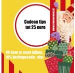 Sinterklaas cadeau tips tot 25 euro