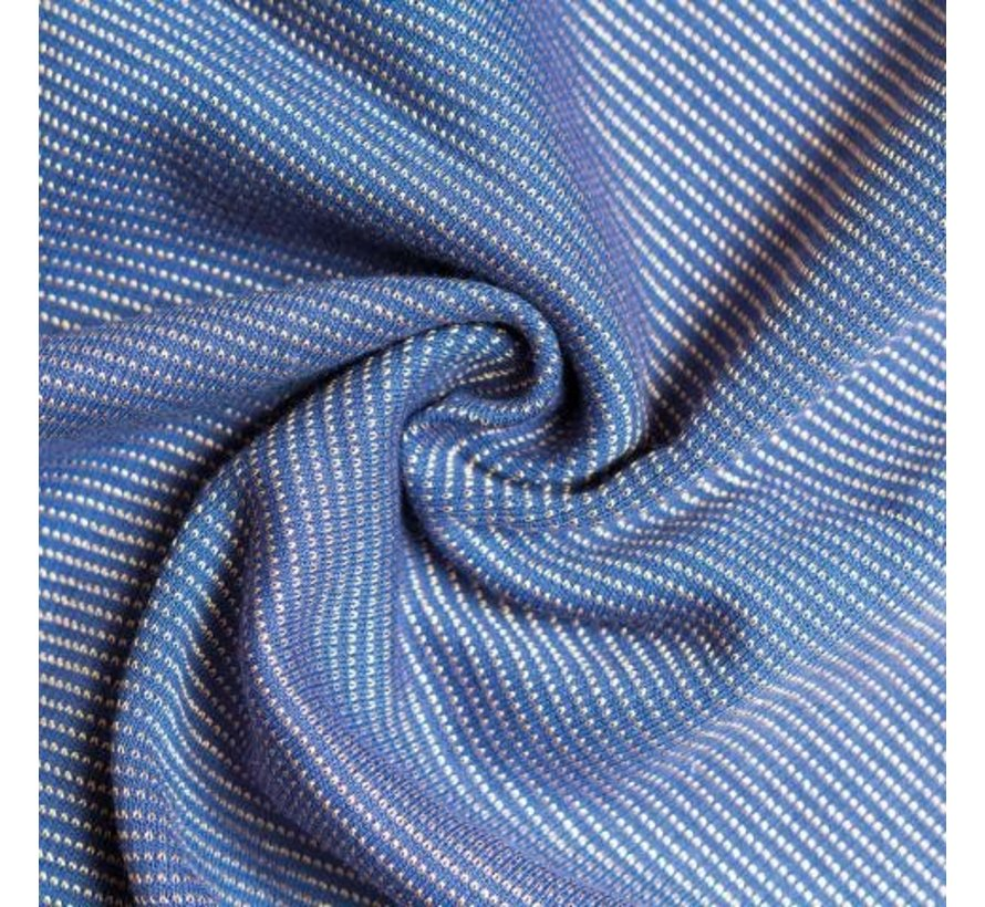 Babylonia tricot slen design Stipple blue gold