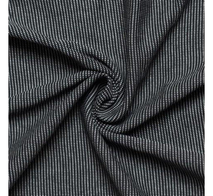 Babylonia tricot slen design Stipple black