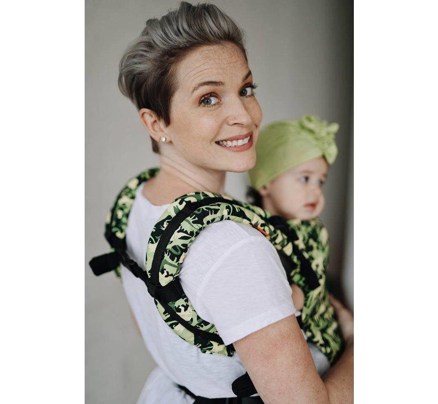 Tula Free to Grow Camosaur babytrage