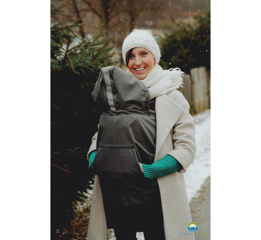 Little Frog Softshell babywearing cover