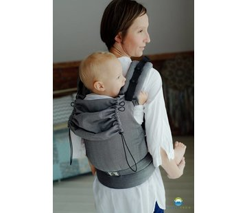 Little Frog Little Frog carrier Graphite Herringbone