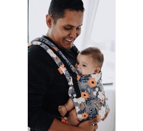 Tula Tula Free to Grow French Marigold babycarrier.