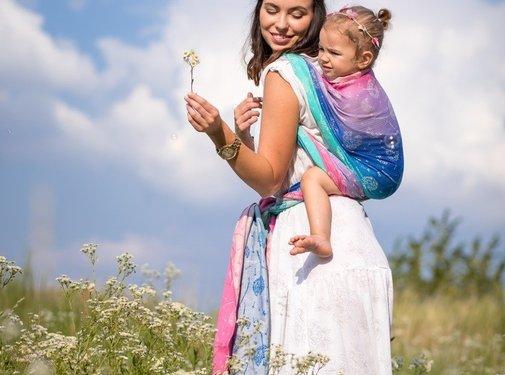 Beloved Slings Beloved Linen & Silk Windy Seeds