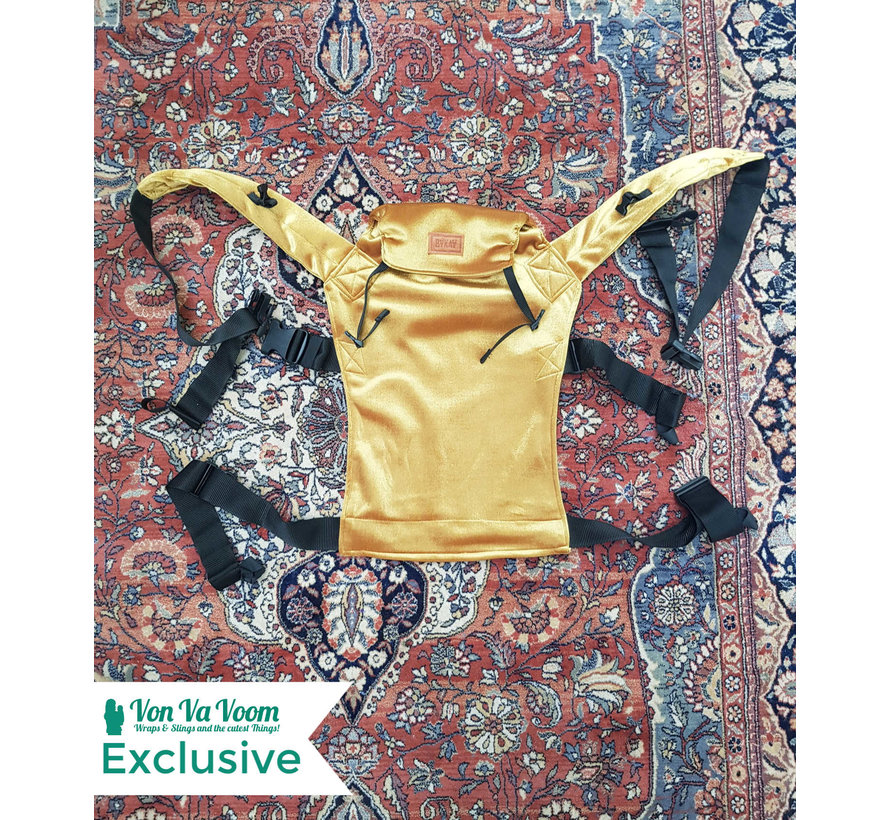 ByKay classic carrier Yellow Velvet, Von Va Voom exclusive.
