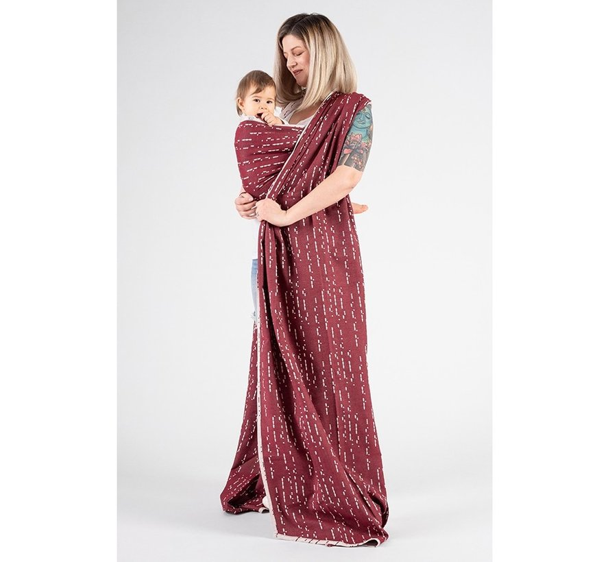 Isara wrap Ruby Code, limited edition.