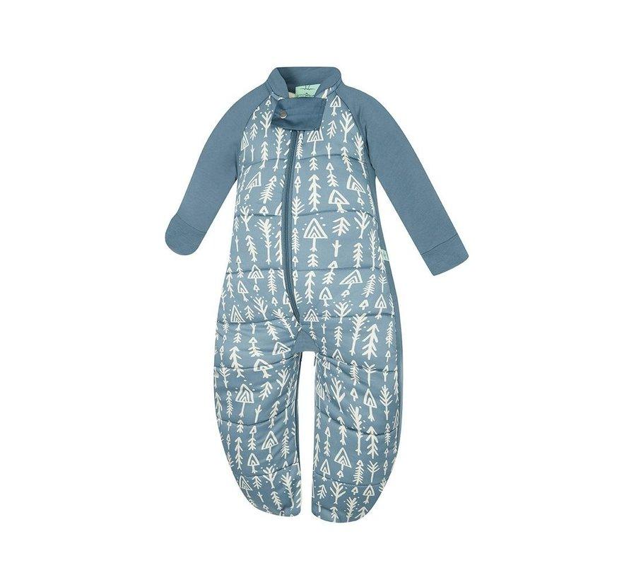Ergopouch 3.5 TOG - Winter Sleepsuit Bag Midnight Arrows Maat: 8-24 mnd