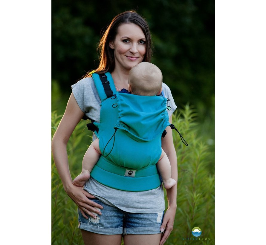 Little Frog baby carrier Petrol