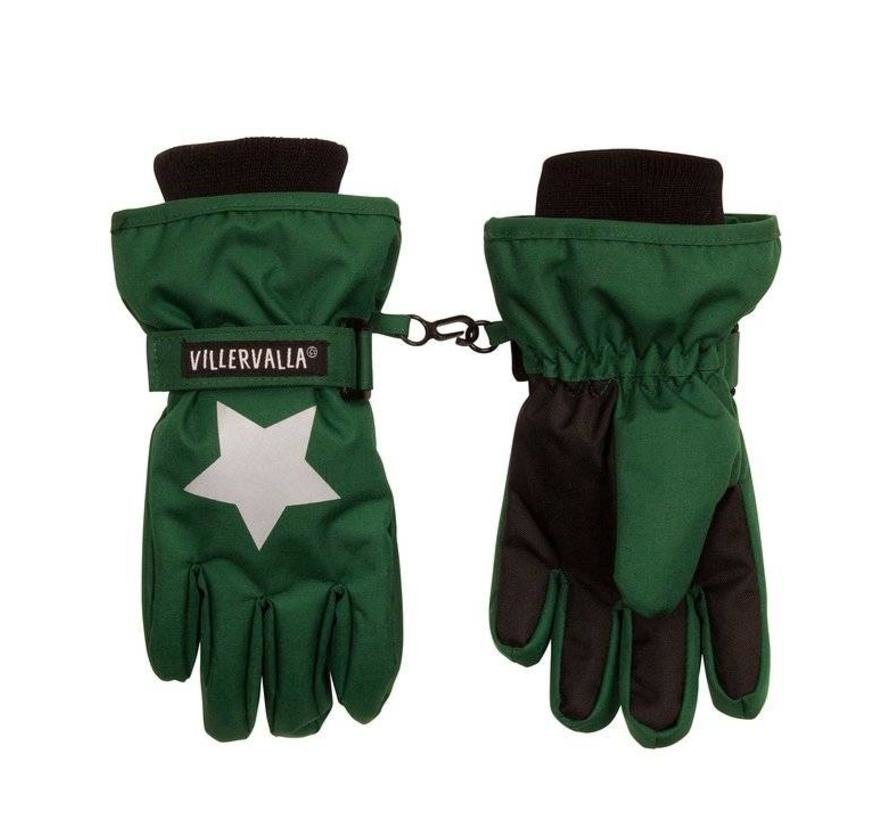 Villervalla WINTER GLOVE  fingers DRK PINE