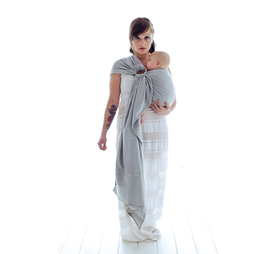 Ringling Little Frog Grey Cube ring sling.