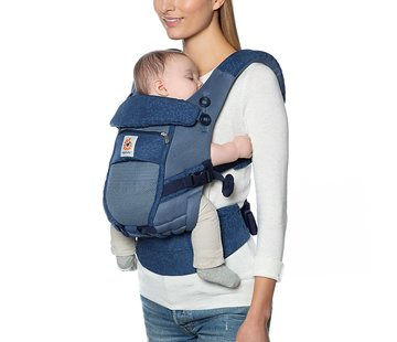 Ergobaby Ergobaby Adapt Cool Air Mesh Blue Blooms