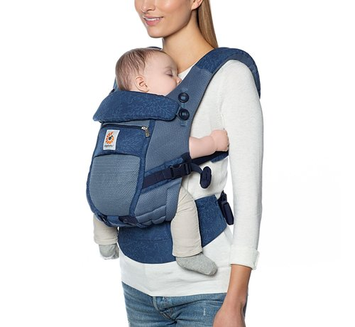 Ergobaby Ergobaby babycarrier Adapt Cool Air Mesh -Blue Blooms