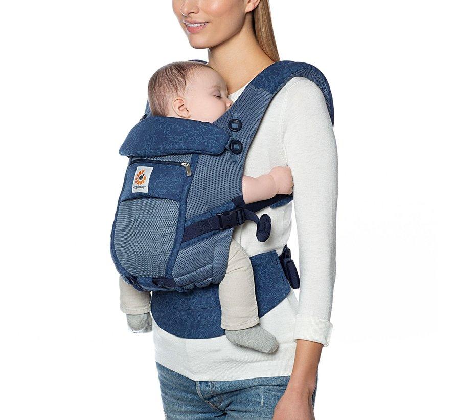 Ergobaby babycarrier Adapt Cool Air Mesh -Blue Blooms