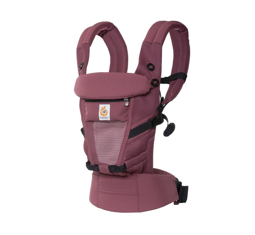 Ergobaby draagzak Adapt Cool Air Mesh -Plum