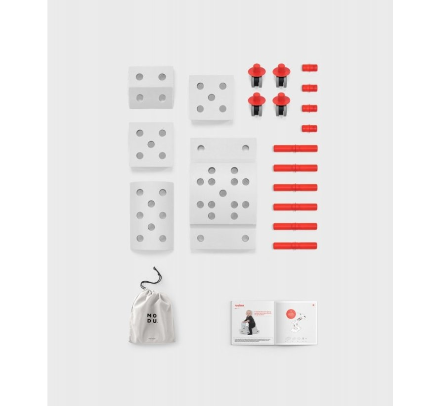 Modu Explorer Kit,  constructie speelgoed blokken van MODU