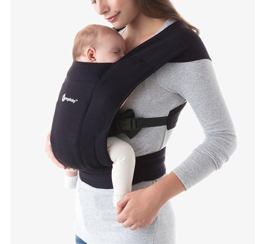 Ergobaby Embrace  Pure Black
