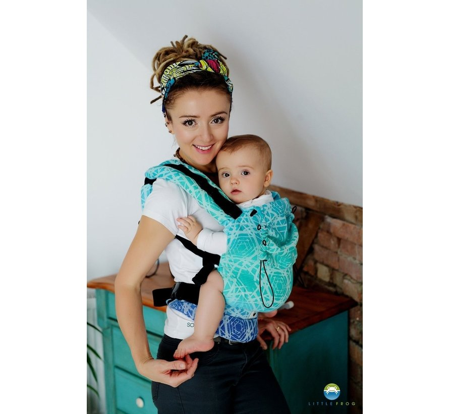 Little Frog baby carrier Sea Abyss