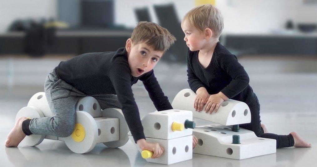 Modu constructie speelgoed, van 6 maanden tot 6 jaar