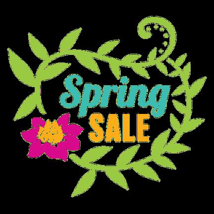 Spring Sale Voorjaarsopruiming