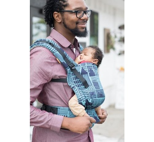 Tula Tula Free to Grow Cityscape  babycarrier