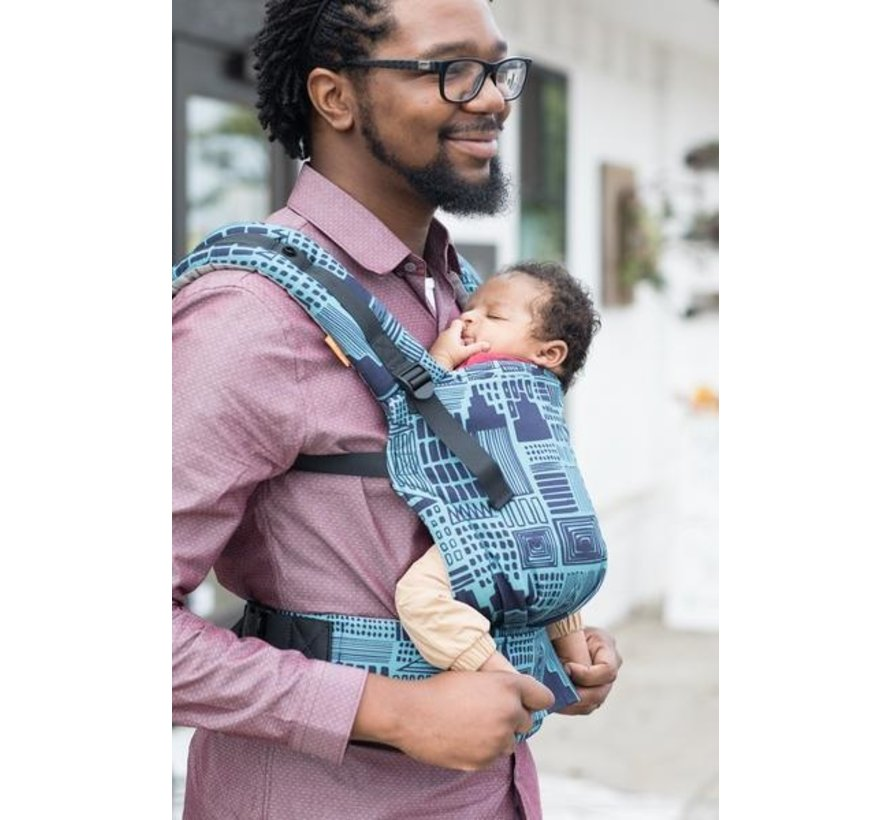 Tula Free to Grow Cityscape babytrage