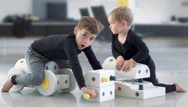 Modu Bauspielzeug, für Kinder von 6 Monaten bis 6 Jahre
