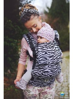 Little Frog Little Frog toddler carrier   Zebra