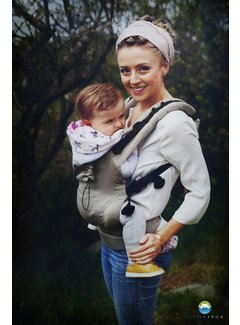 Little Frog Little Frog baby carrier Basic SLATE