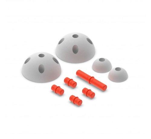 Modu Modu Half Ball Kit uitdagende speelgoed blokken van MODU