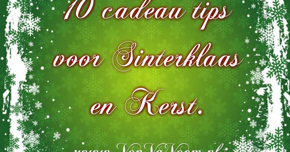 Sinterklaas en kerst cadeau tips voor baby's en hun ouders.