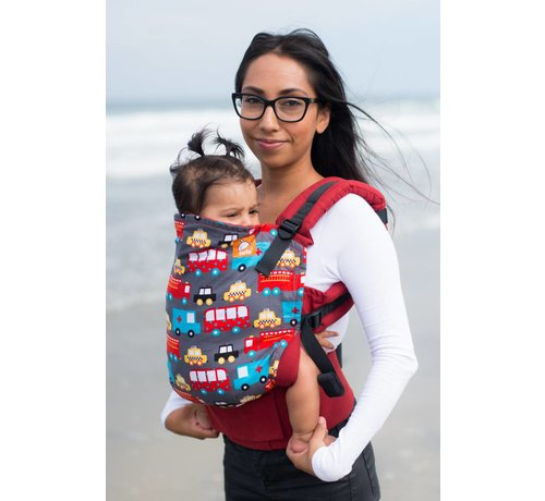 Tula Tula Look For Helpers carrier, easy to use carrier for babywearing.