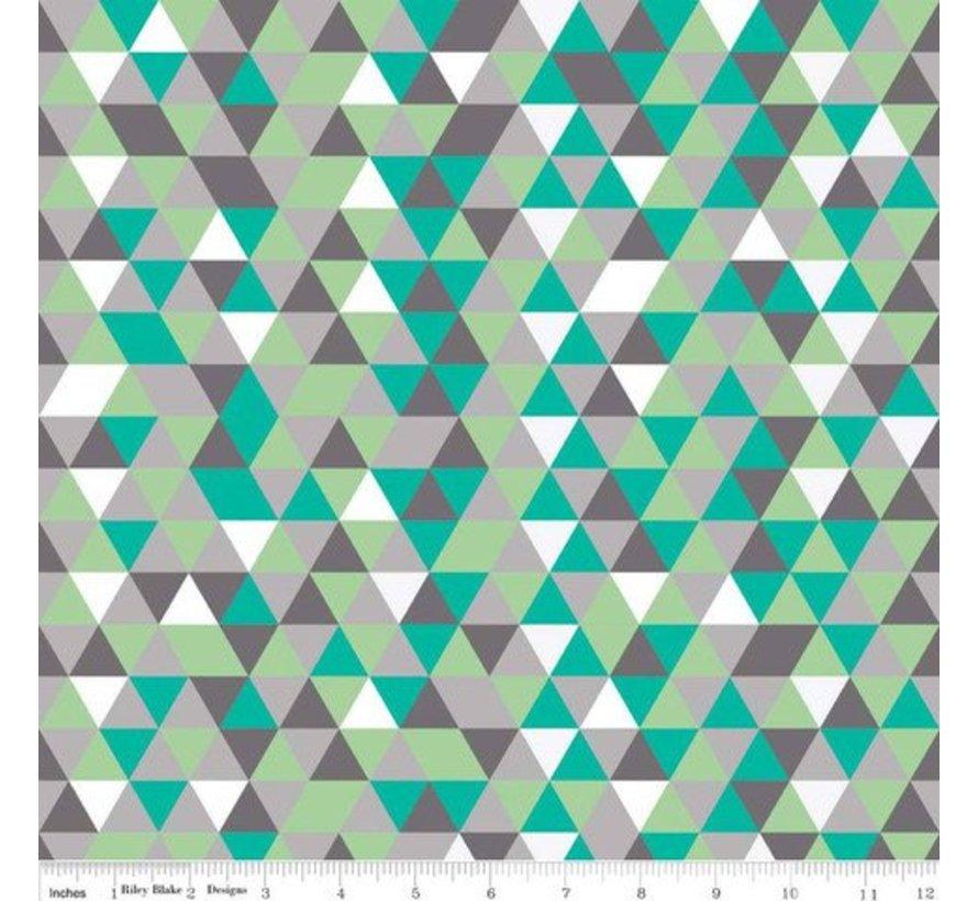 Draagzak Tula Equilateral, geometrische print draagzak.