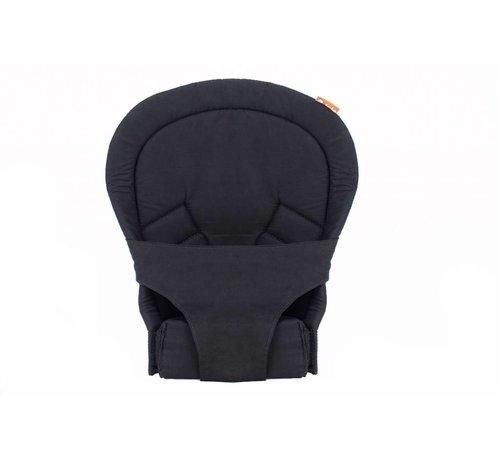 Tula Tula infant insert zwart, verkleiner voor de tula draagzak.