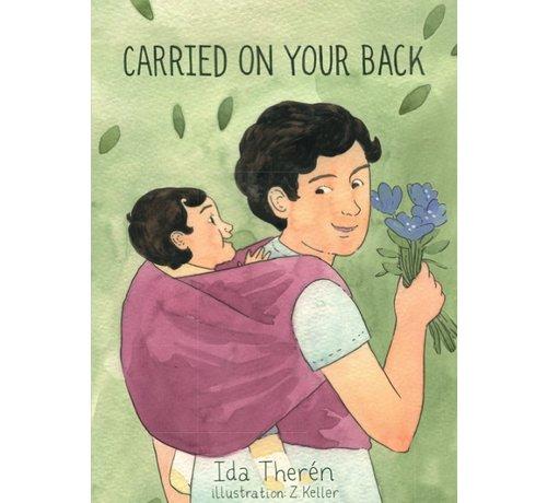 Kinderboek Carried on your back. Engelstalig boek