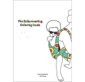 Babywearing coloring book
