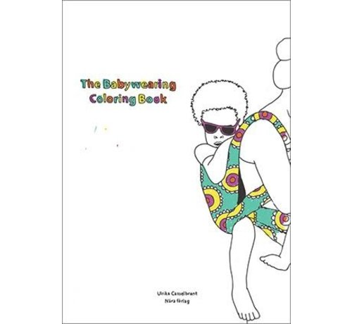 Babywearing coloring book