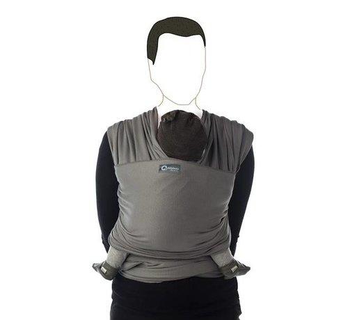 Babylonia Tricot Slen moon mist grey, stretchy sling.