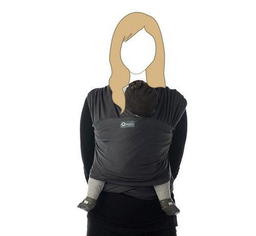 Babylonia Tricot Slen dark grey, stretchy sling.