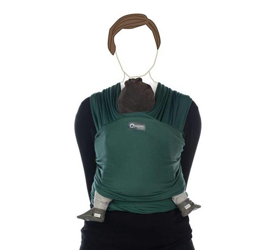 Tricot Slen vintage green, stretchy sling.