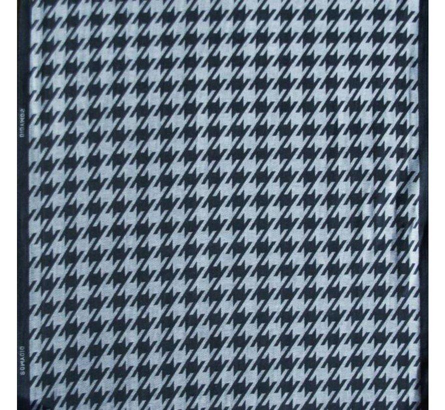 Sling Didymos Hahnentritt anthracite, 100% cotton woven.