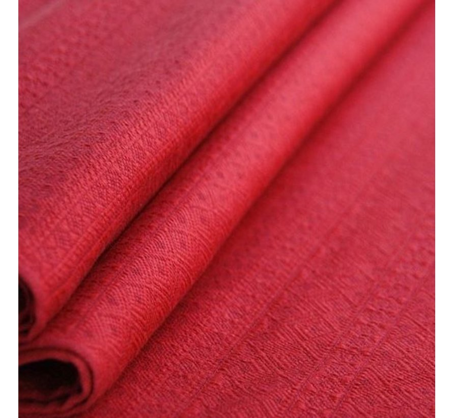 Didymos Prima Ruby Red, woven wrap.