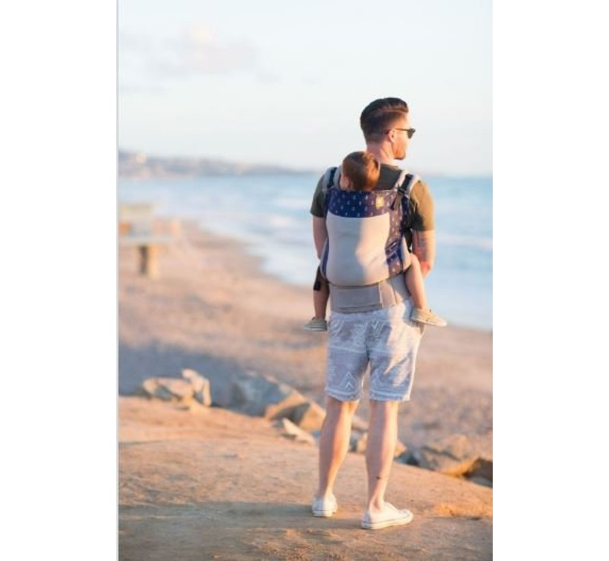 Tula Coast Mariner ,zomer draagzak met mesh.