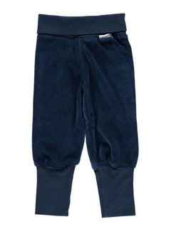 Maxomorra Pants Rib  Dark Blue 44
