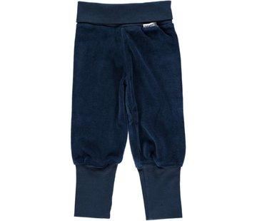 Maxomorra Pants Rib  Dark Blue 44