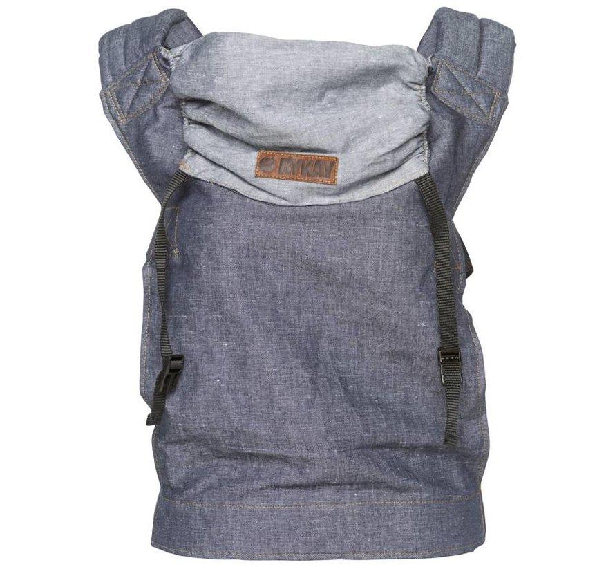 ByKay SSC classic dark jeans denim carrier.