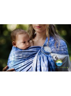 Little Frog Little Frog Blue  Illusion ringsling